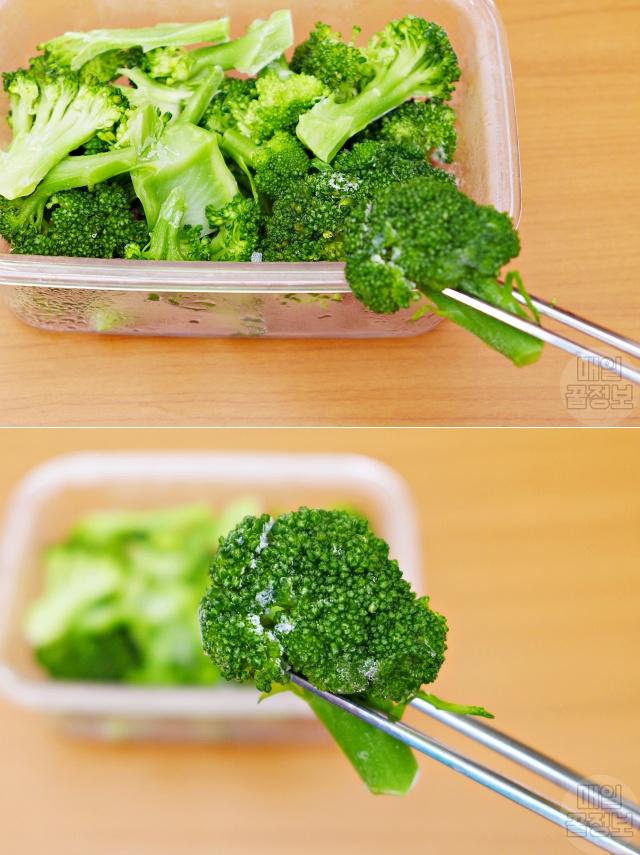 브로콜리 효능, 얼리면 좋은 음식, 얼려 먹으면 좋은 음식, 건강, 팁줌마 매일꿀정보