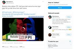 Video Balada Cinta Bersama Lily Sofia Jadi Sorotan Usai Penangkapan Munarman