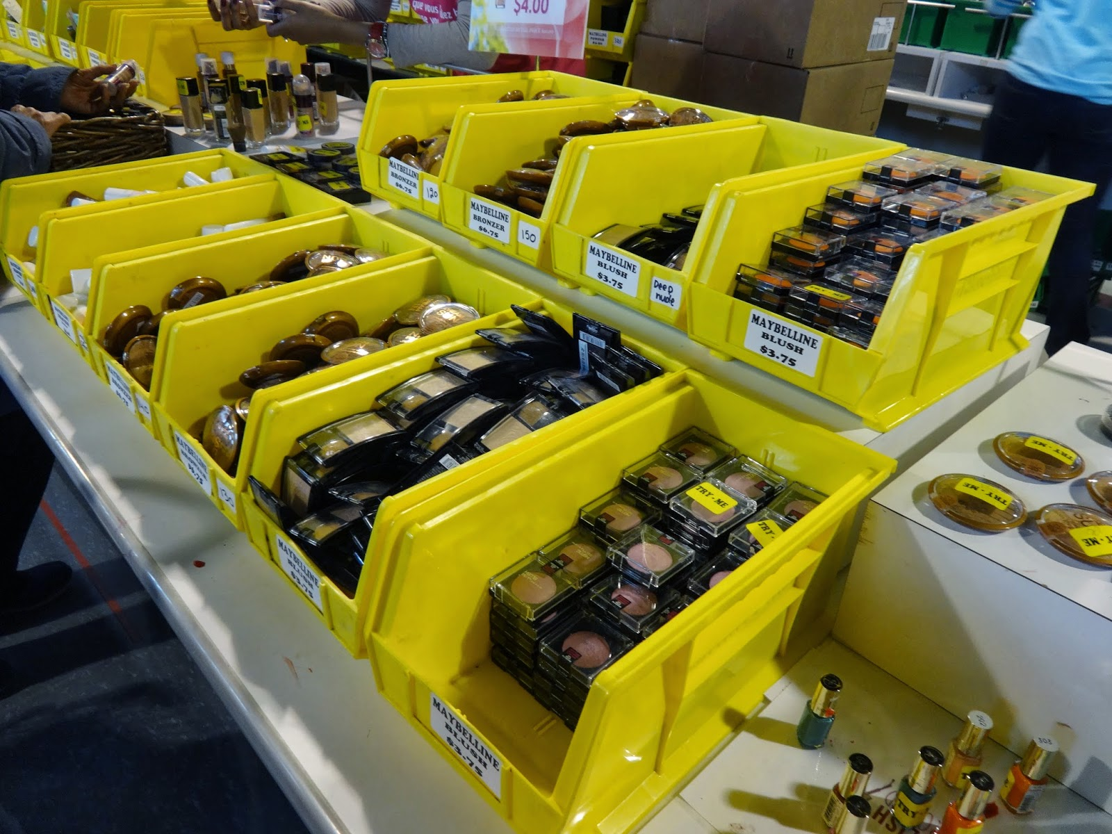 L'Oreal Warehouse Sale:  Spring 2014, Part 1