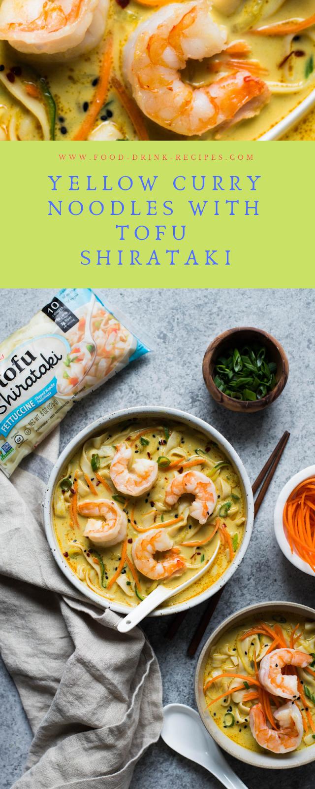 Yellow Curry Noodles with Tofu Shirataki