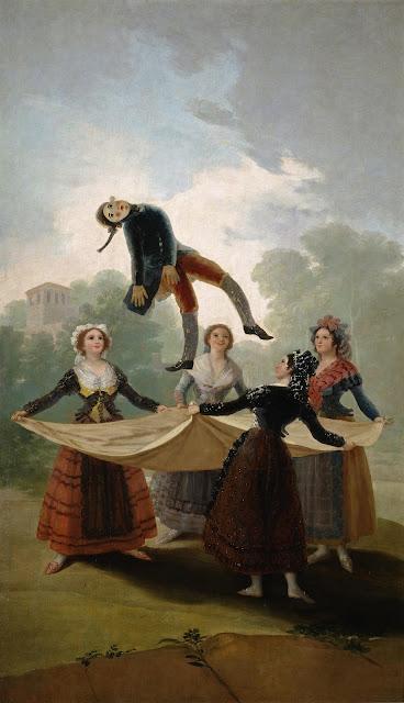 Francisco de Goya - El pelele - 1791-92