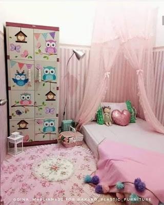 Desain Kamar Tidur Anak Lesehan