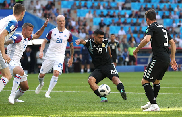 Hasil Argentina vs Islandia Skor Akhir 1-1 | Fase Group D World Cup 2018