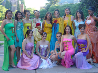 A Providence modelling show at an American university in 2005.