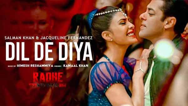 Dil De Diya Hindi New Song सुंग by Payal Dev, Kamaal Khan [Radhe]