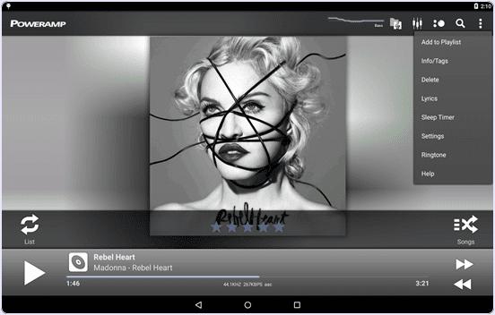 android Poweramp Music Player