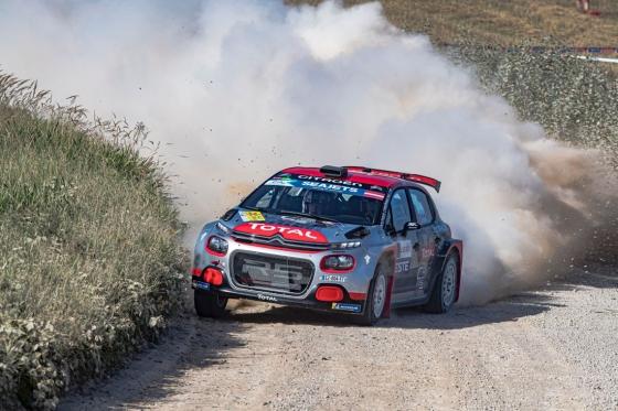 Mads Ostberg in Citroen C3 R5 WRC Car