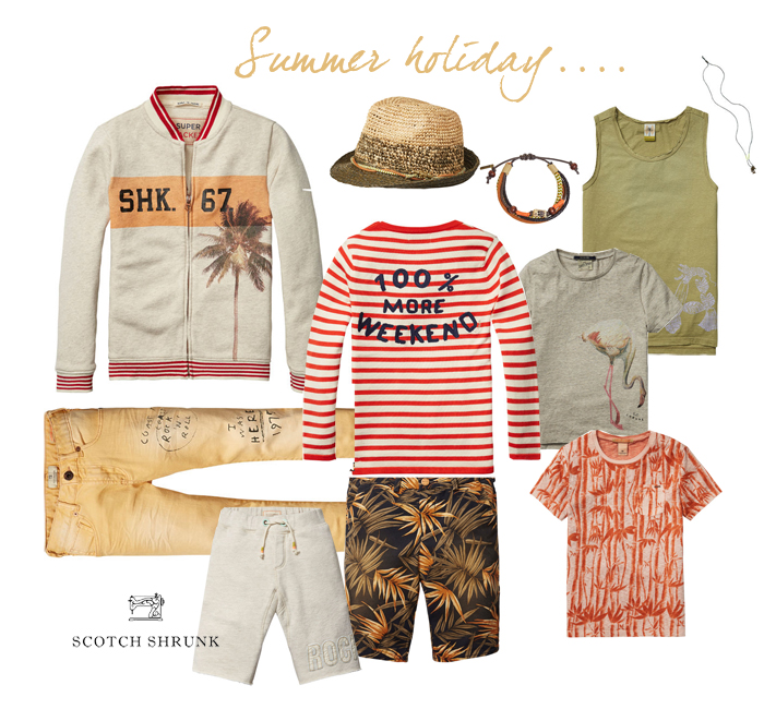 Rafa-kids Scotch-Soda new Spring Summer 2016