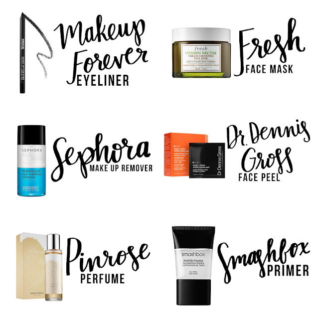 Beauty Blogger, Makeup Blogger, Sephora Makeup, College Blogger, Lifestyle Blogger, Makeup Review, Makeup Forever Eyeliner, Fresh Face Mask, Sephora Makeup Remover, Dr Dennis Gross Face Peel, Pinrose Perfume, Smashbox Primer