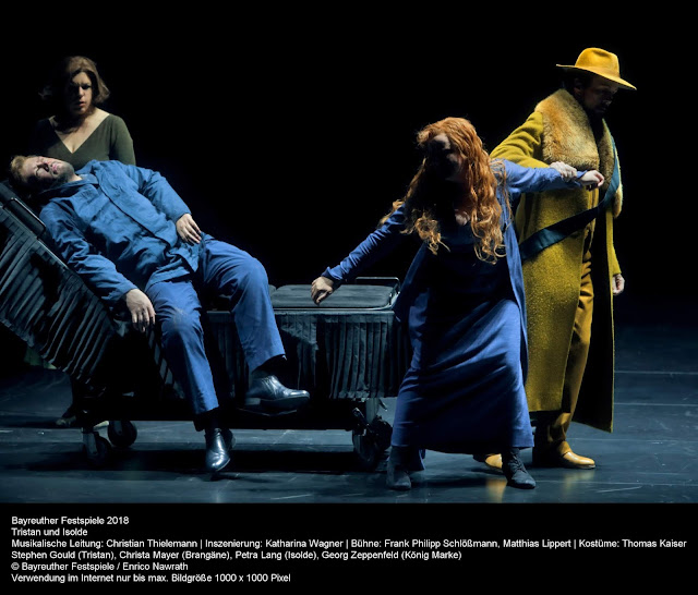 Richard Wagner: Tristan und Isolde - Bayreuth Festival (Photo Enrico Nawrath)
