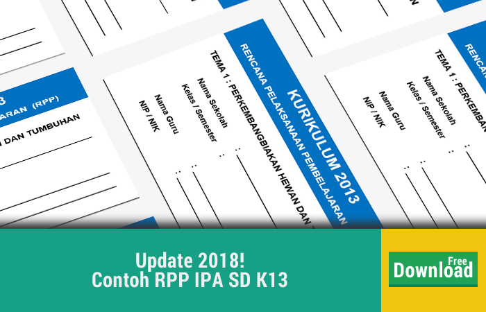 Contoh RPP IPA SD K13