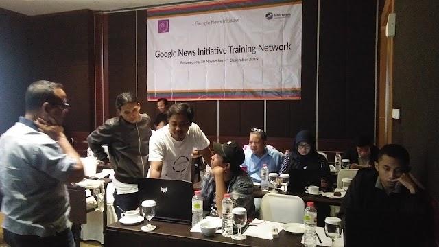 25 Jurnalis Digembleng Google News Initiative Training Network