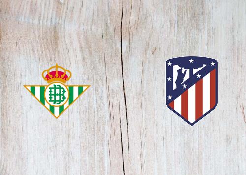 Real Betis vs Atletico Madrid -Highlights 11 April 2021