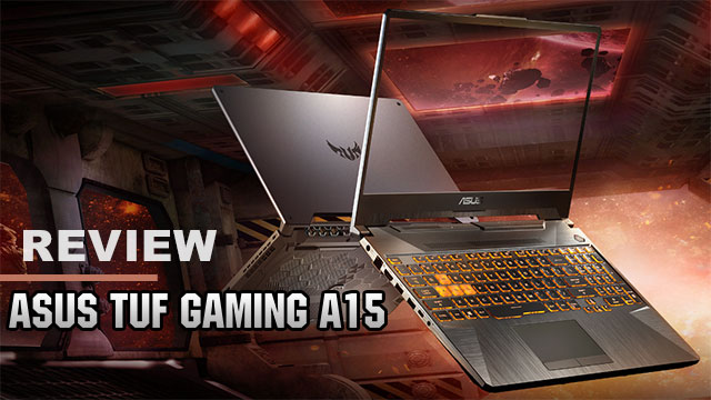Review TUF Gaming A15