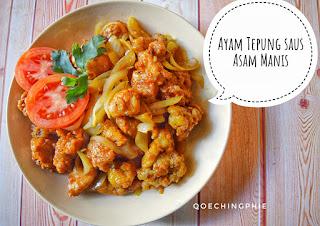Resep Ayam Tepung Saus Asam Manis Praktis