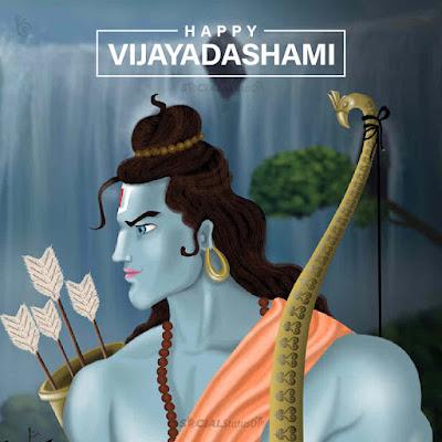 Happy Vijayadashami Ram Navami Wishes Images