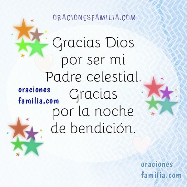 oraciones de proteccion para la noche por la familia