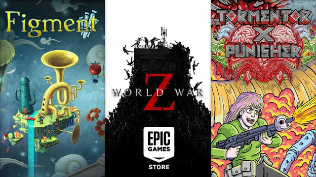 Figment, World War Z, dan Tormentor x Punisher