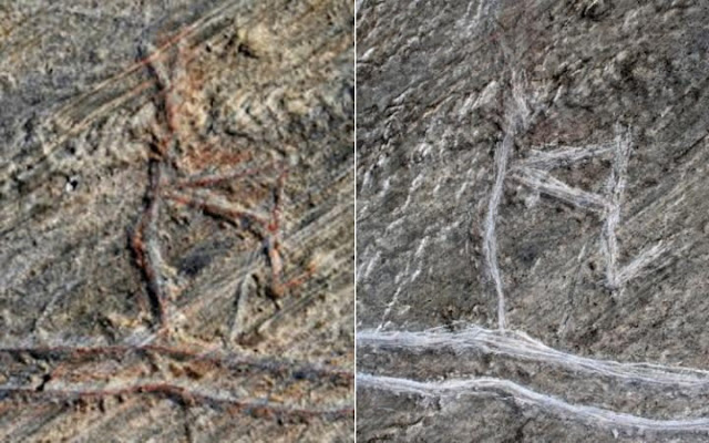 Norwegian youths ruin 5,000-year-old rock carving