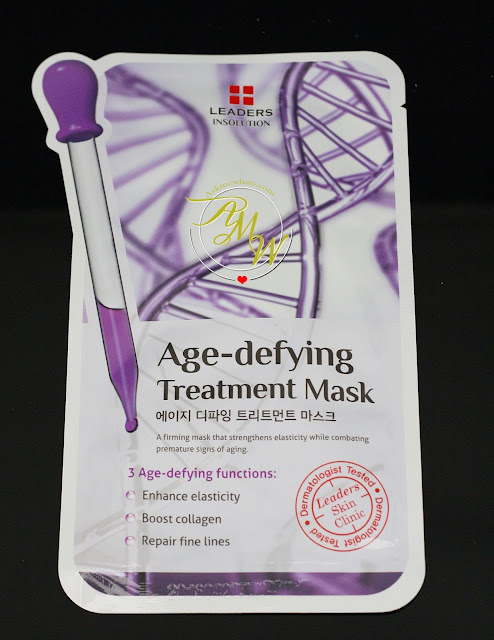 a photo of leaders insolution Age-defying treatment mask