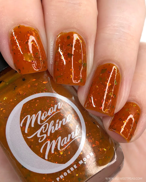 Moon Shine Mani Bring on the Yams! 25 Sweetpeas