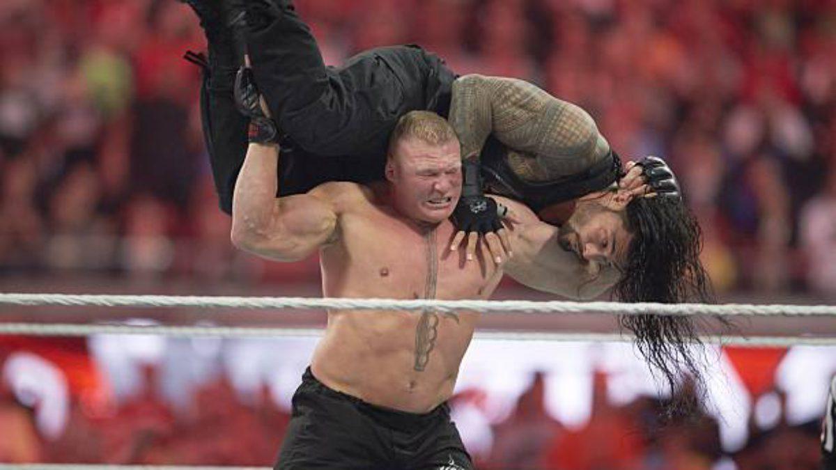 "Mike Chioda aponta erro no ""finisher"" de Brock Lesnar"