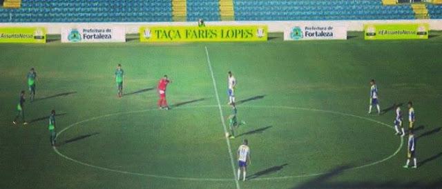 Horizonte bobeia e estreia com derrota na Taça Fares Lopes.