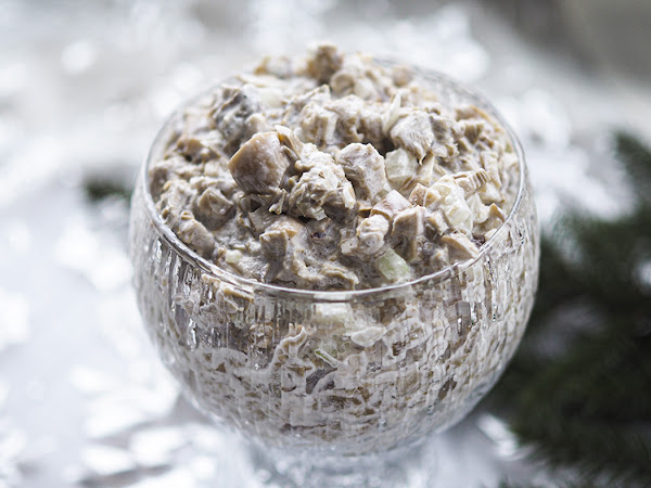 Se paras perinteinen sienisalaatti