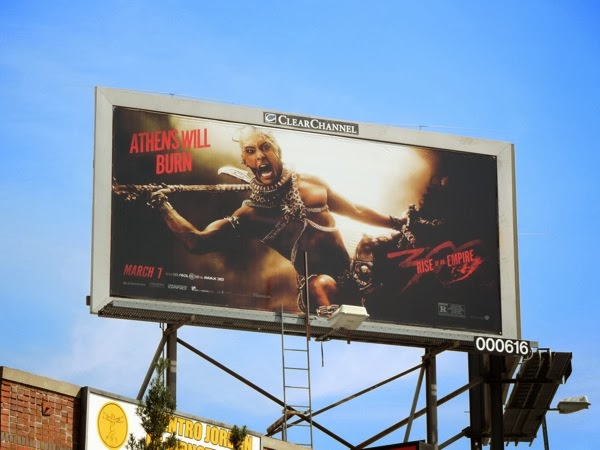 300 Rise of an Empire Xerxes billboard
