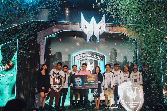 Miraculum Gaming wins Predator League 2020 Philippine Finals