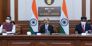 India, Australia and France held Trilateral Dialogue