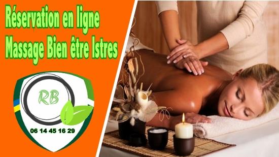 Réservation en ligne - Massage Bien être Istres;