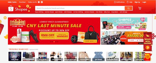 Shopee Platform Destinasi E-Dagang Terbaik