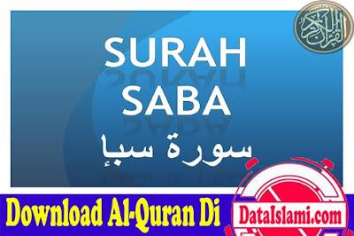 Download Surat Saba Mp3 Full Ayat 1-54 Suara Merdu