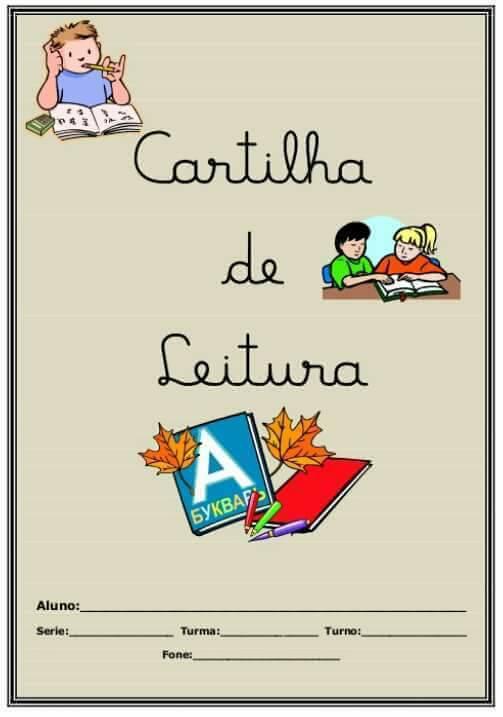 Cartilha De Leitura Para Imprimir So Escola