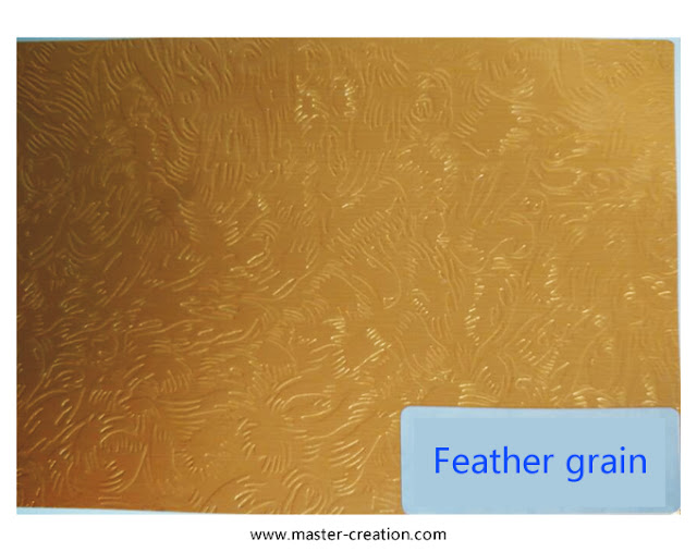 feather grained paper