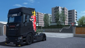 Simple Griffin Paint job for Scania 2016