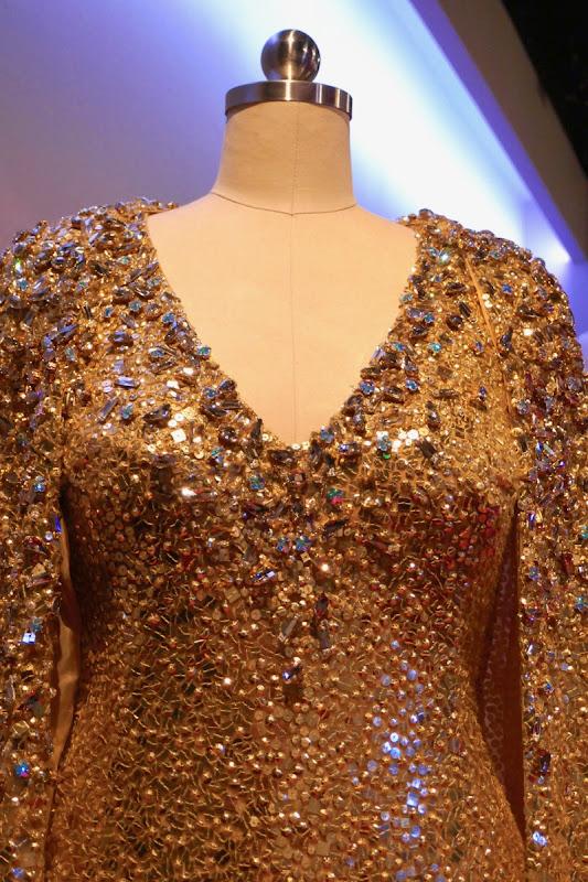 Mindy Kaling Oceans 8 Met Gala gown detail