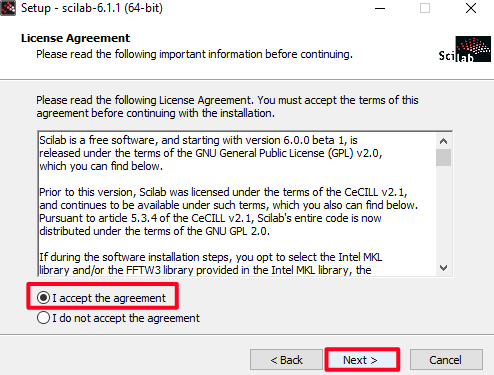 Scilab download and installation tutorial for Windows 10