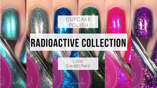 Cupcake Polish Radioactive Collection