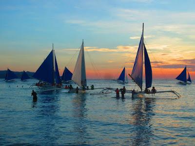 boracay sailing
