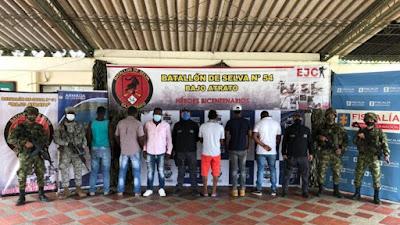 Cárcel para un concejal y cinco presuntos integrantes del 'Clan del Golfo' por afectaciones criminales contra defensores de derechos humanos en Chocó.