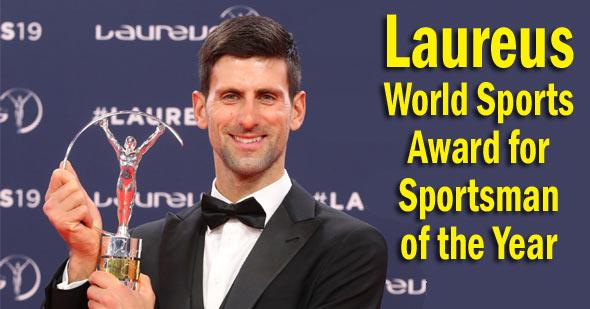 लॉरेउस वर्ल्ड स्पोर्ट्स पुरस्कार स्पोर्ट्समैन ऑफ़ द इयर