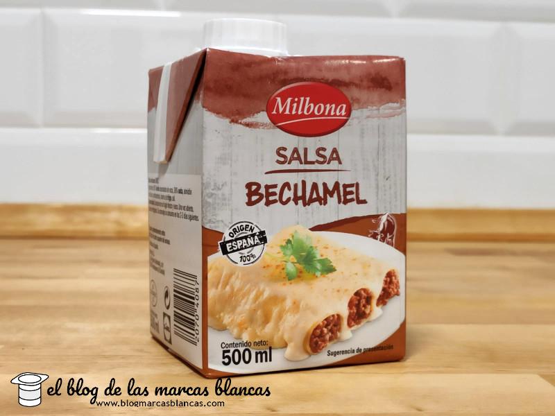 Salsa bechamel MILBONA (Lidl) en El Blog de las Marcas Blancas