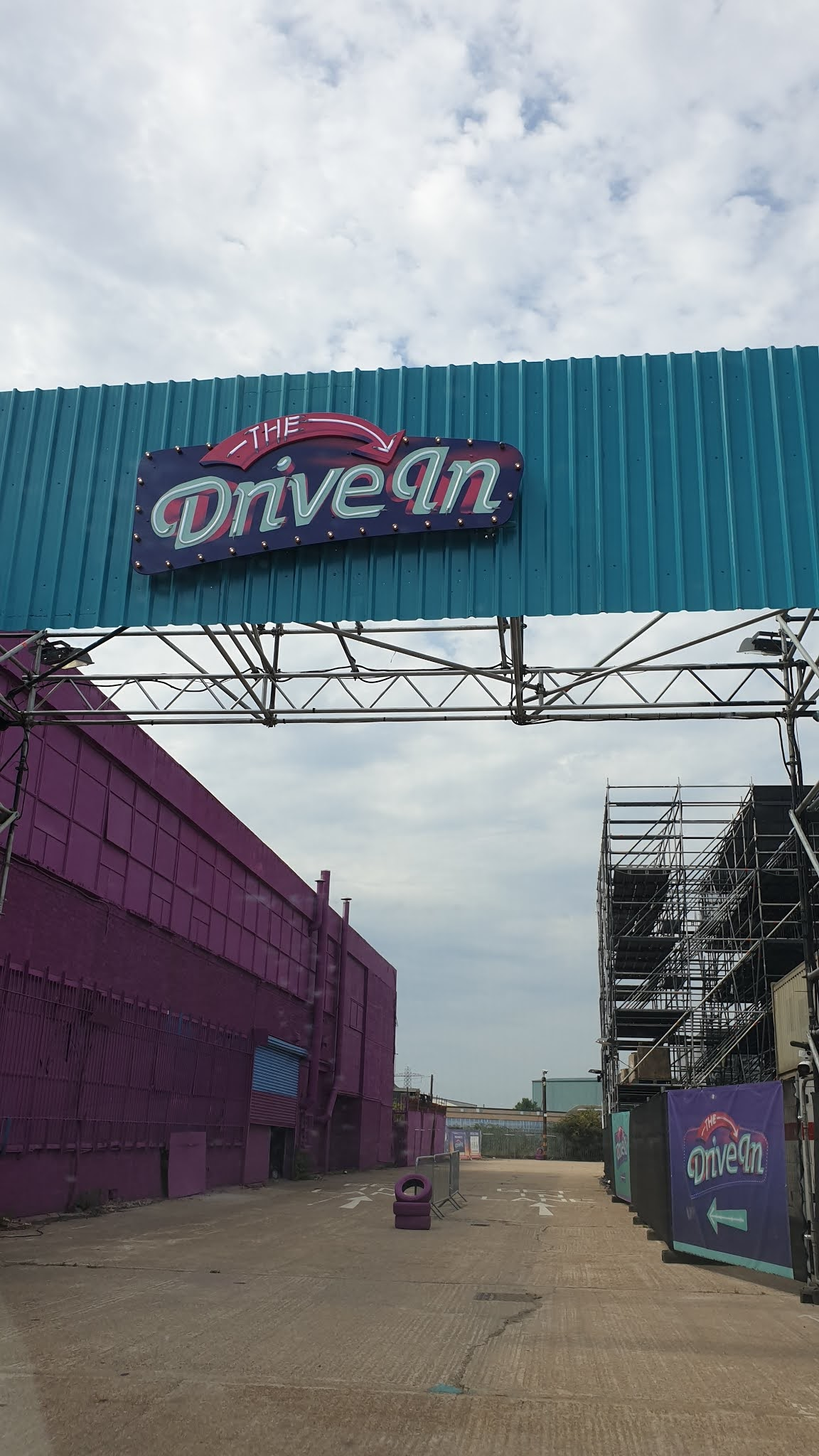 the drive in london entrance