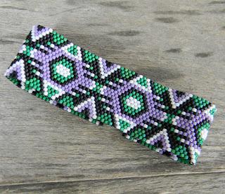 купить очень длинные серьги из бисера купить браслет из бисера