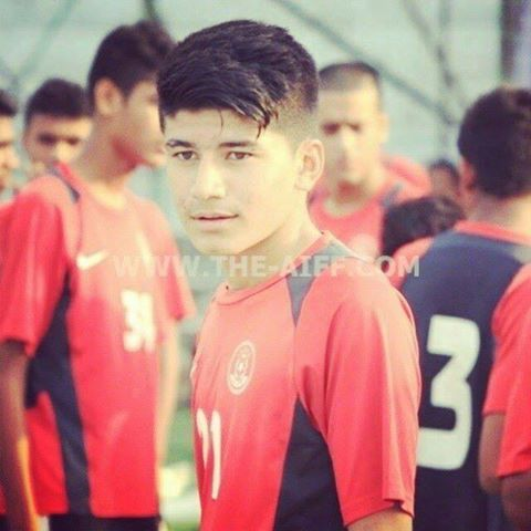Anirudh Thapa captain of the Indian National Football Team (Under-19)