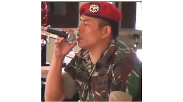 Video Anggota Kopassus Lantunkan Ayat Suci Alquran, Suaranya Menyentuh Hati