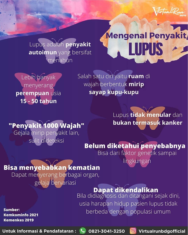 Lupus Day Virtual Run • 2021