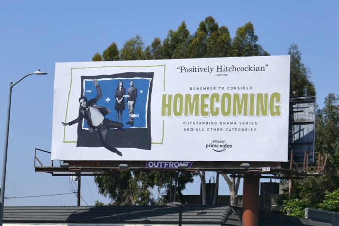 Homecoming 2019 Emmy consideration billboard